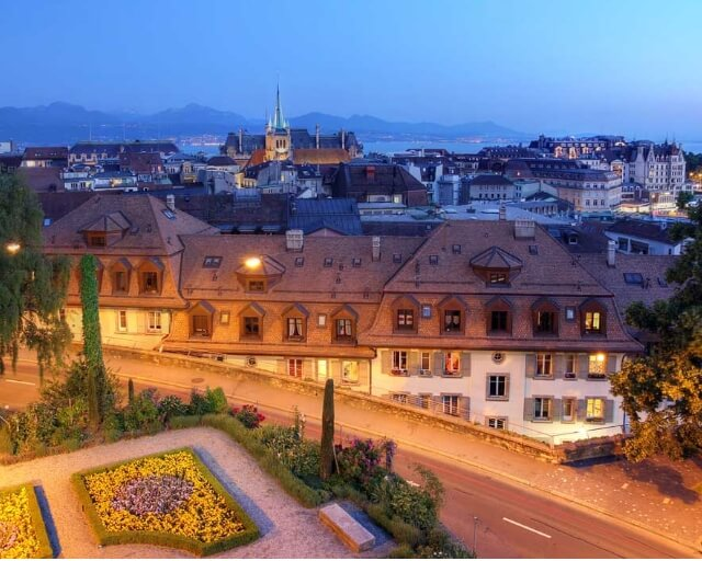 Rent apartment in Lausanne